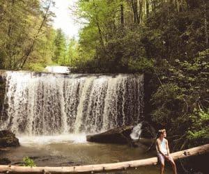 Brasstown Falls hike