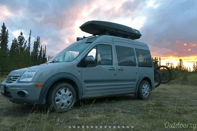 Alaska camper van rental