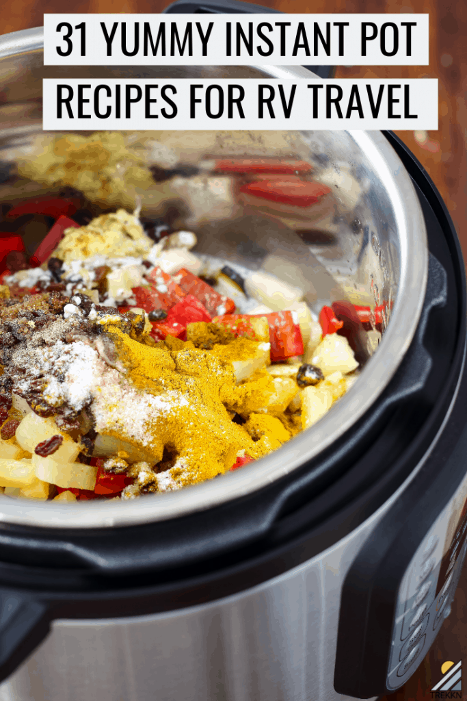 Instant Pot Recipes for RV Cooking