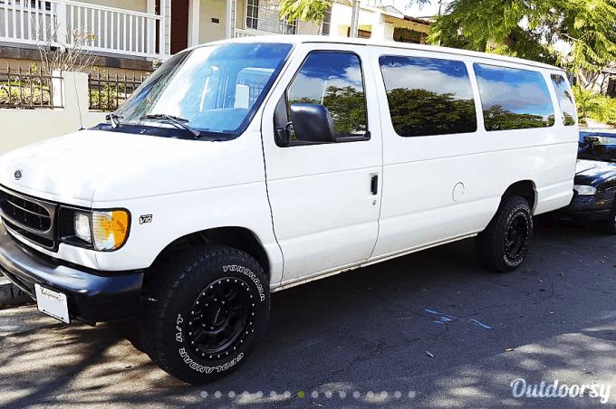 Adventure Van rental Los Angeles, CA