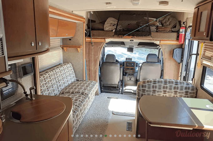 Motorhome rental in San Diego California