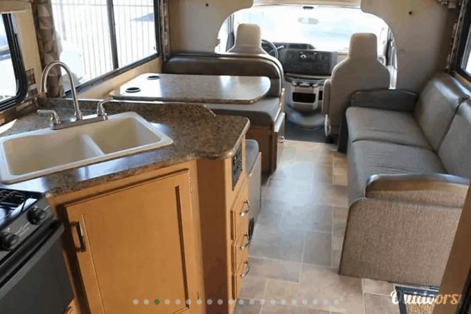 Motorhome rentals in San Diego California