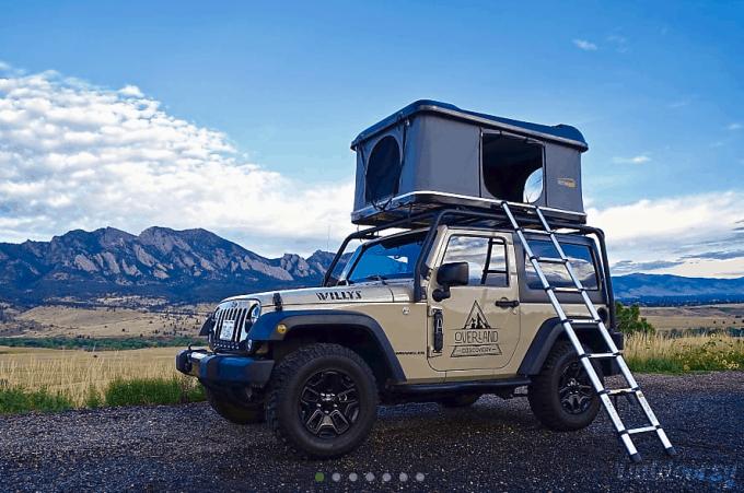 Overlanding rentals Denver CO