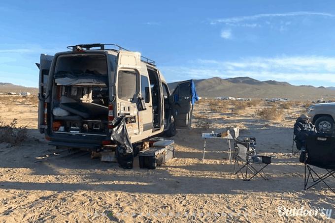 Campervan rentals San Diego