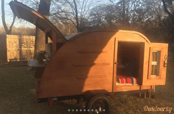 teardrop camper austin tx