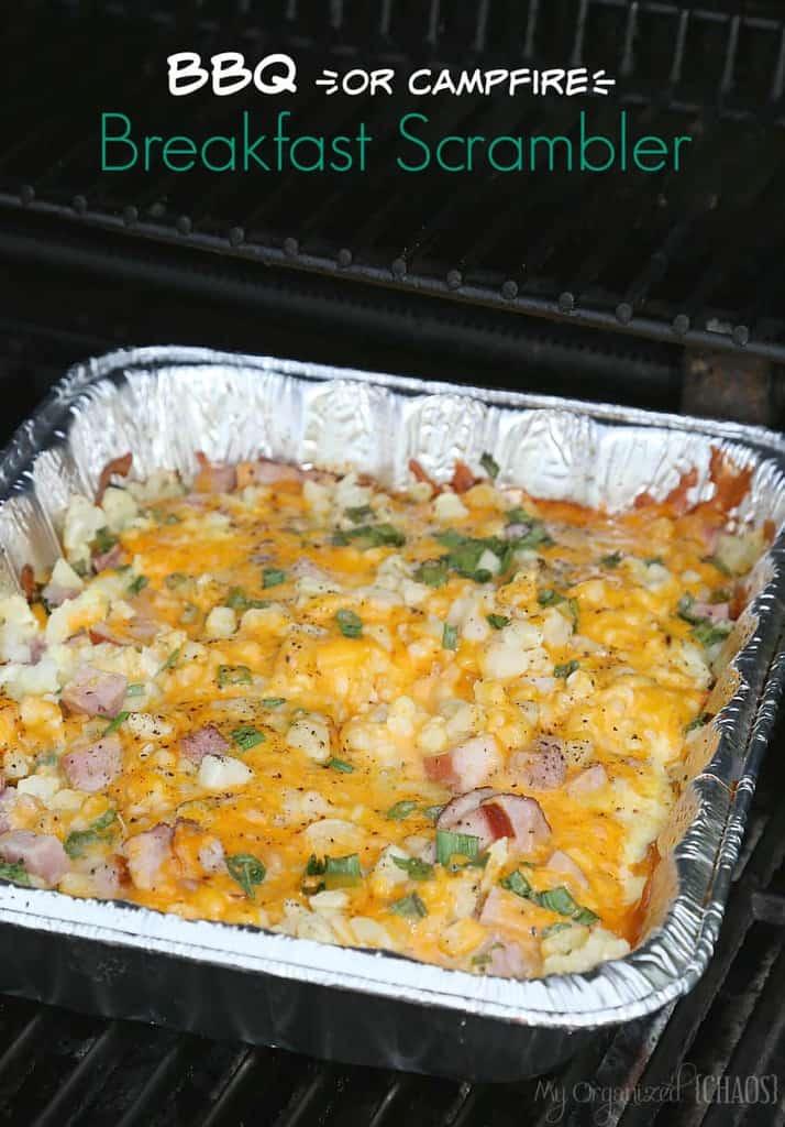 Camping Breakfast Casserole -BBQ Breakfast Scrambler