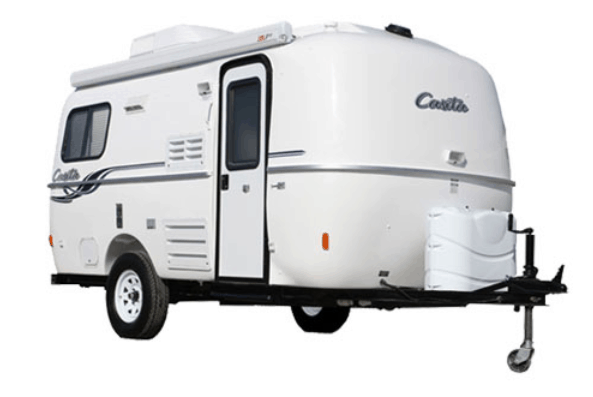 The Casita travel trailer is a veteran of the open road, where it has lived since the early 1980s.