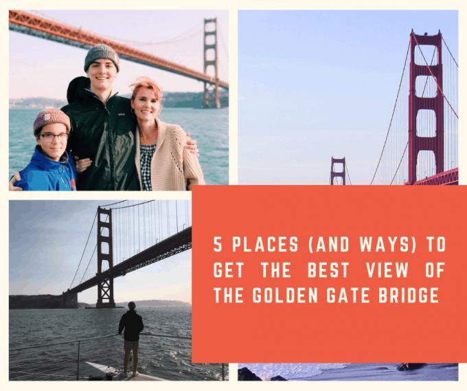 best views of golden gate bridge