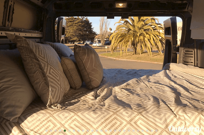 campervan rental san francisco