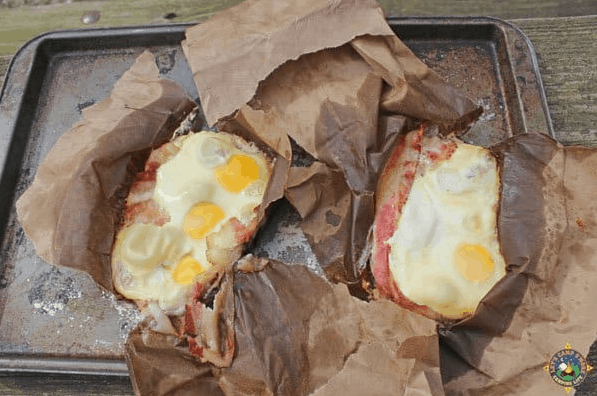 Camping Breakfast In a Bag