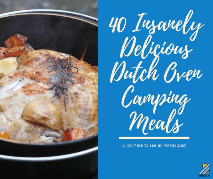 Dutch oven camping meals