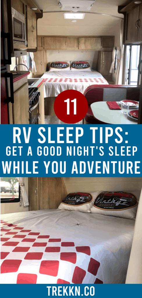 RV Bedroom Ideas for Great Sleep