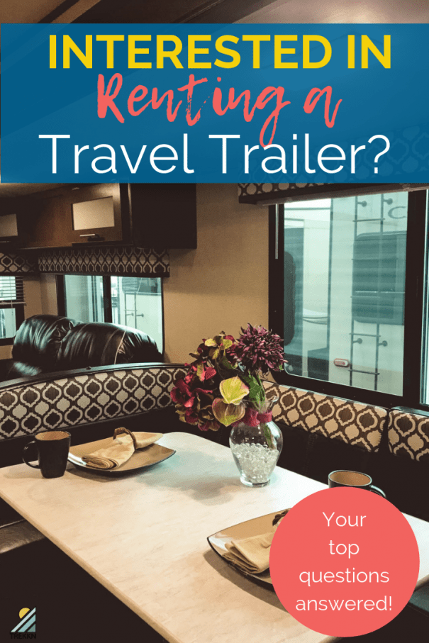 Travel Trailer rental: Your Questions Answered