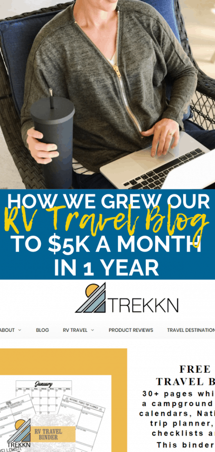 How much money can an RV travel blog make?