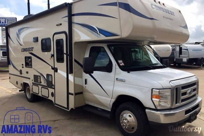class c rv rental houston