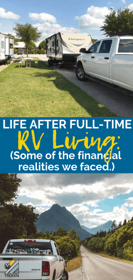 Life After Full-Time RVing