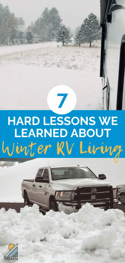 Winter RV living tips and life lessons