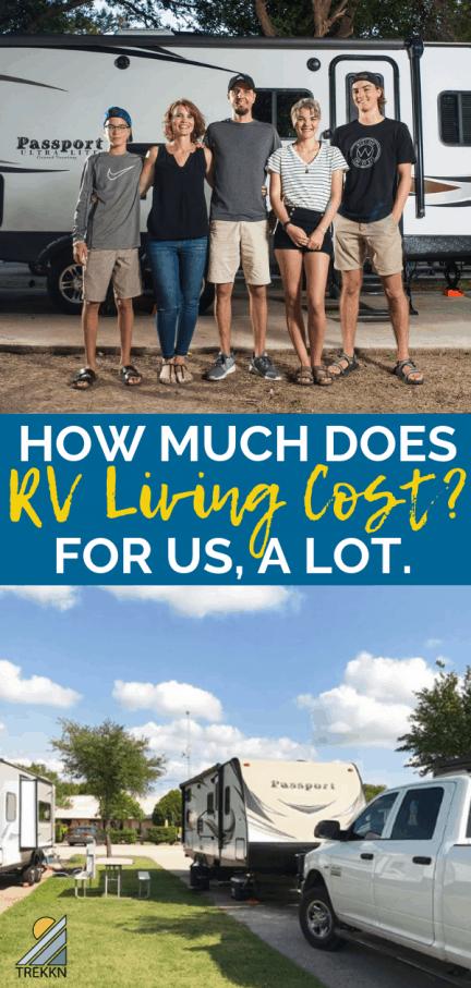 RV living cost