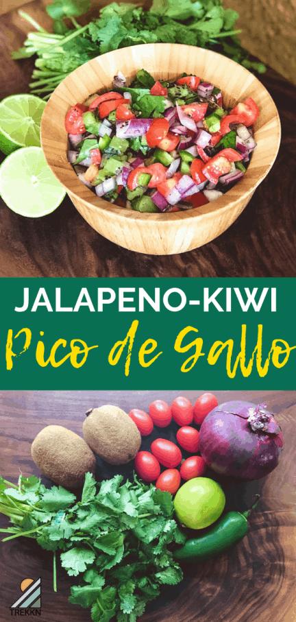 Jalapeno-Kiwi Pico de Gallo