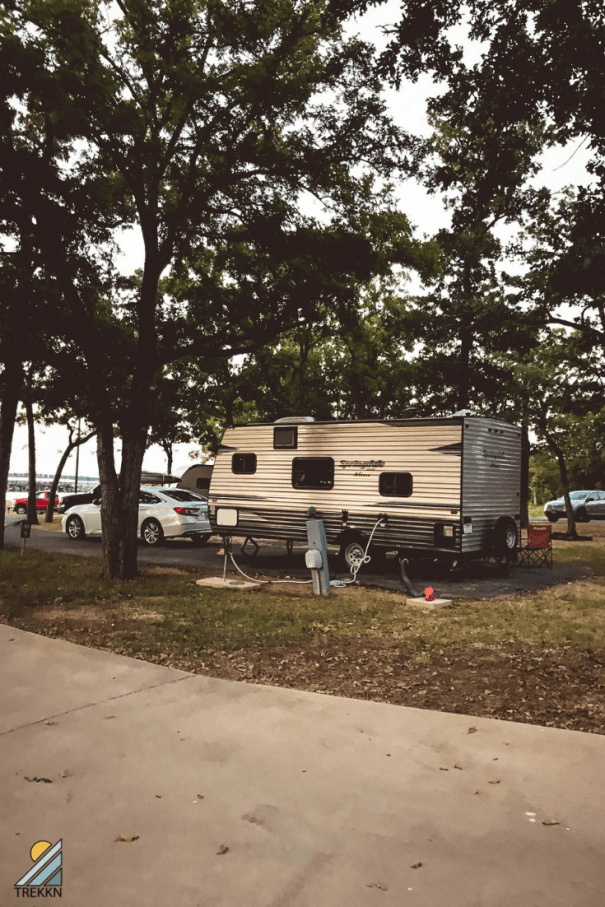 Our first RV rental experience