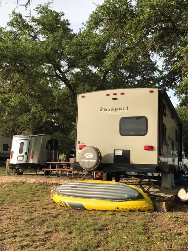 Central Texas RV park in Canyon Lake