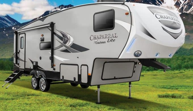 small 5th wheels trailers from Coachmen