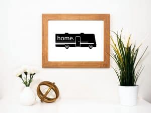Printable RV Decor for Class A Motorhomes