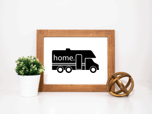 Printable RV Decor for Class C Motorhomes