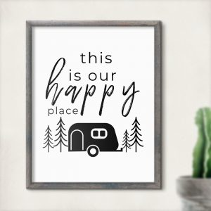 Printable RV Decor