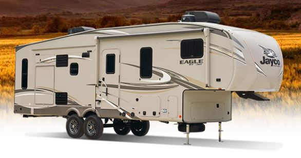small 5th wheel trailer from Jayco