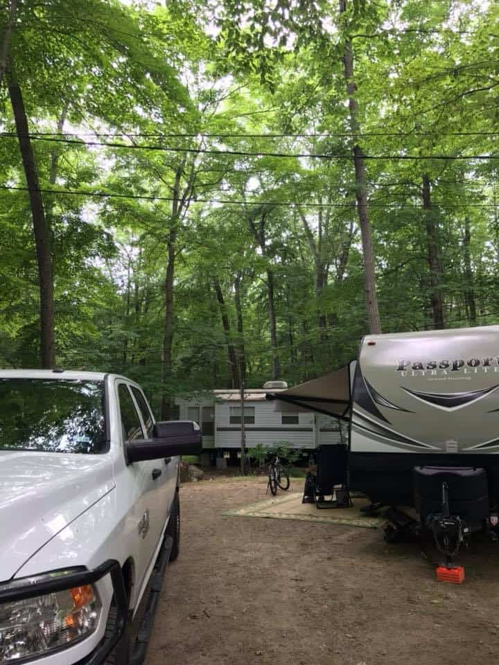 RV park in Connecticut