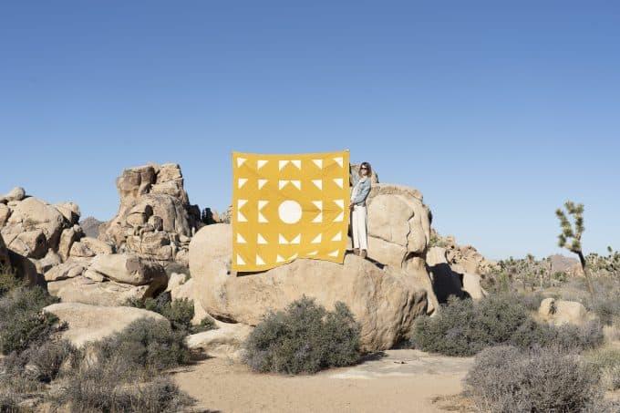 Laura Preston of Simple Geometric Quilting