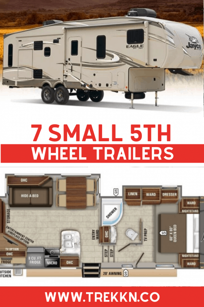 small 5th wheel campers