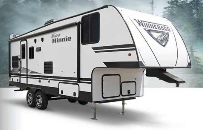 small 5th wheel campers from Winnebago