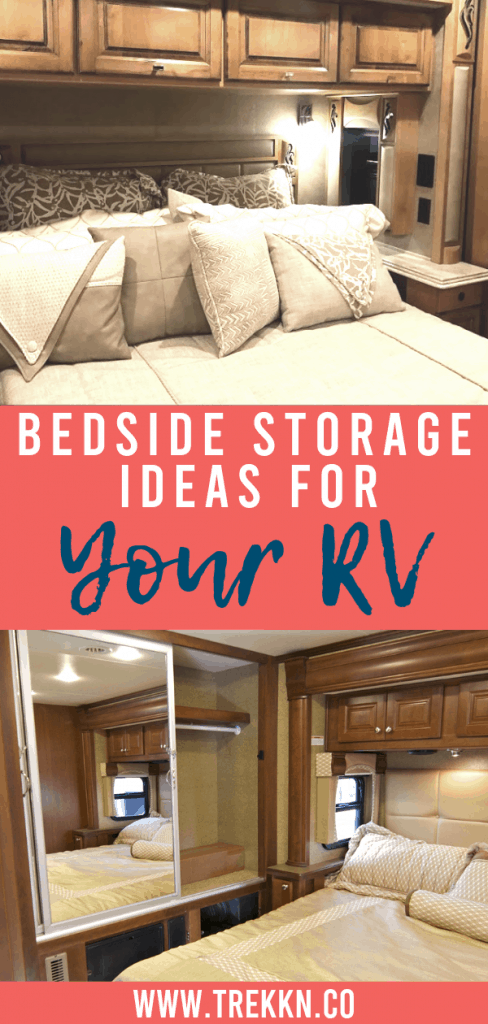 Bedside storage ideas for your RV
