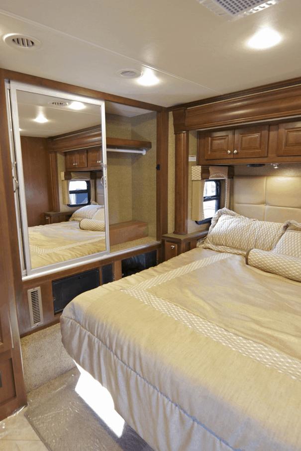 Bedside Storage Ideas for Your RV: Bedside Caddy, Shelf and Pocket Options