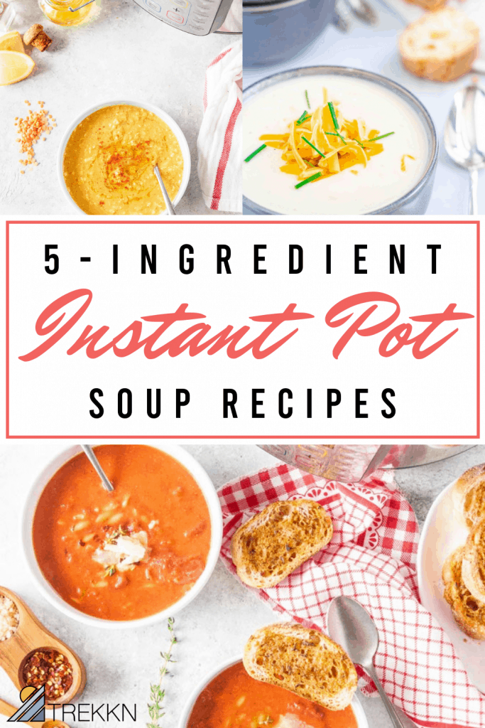 5 Ingredient Instant Pot Soup recipes