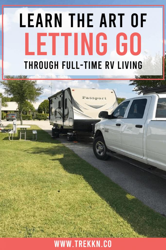 Full-time RV living lessons