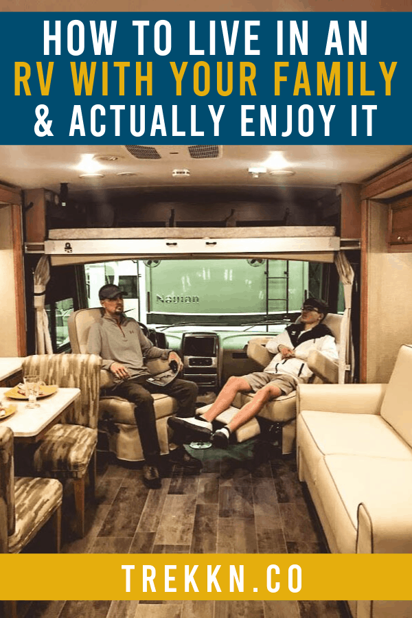 How to Live in an RV with family