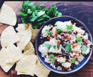 Instant Pot Mexican Rice and Beans recipe