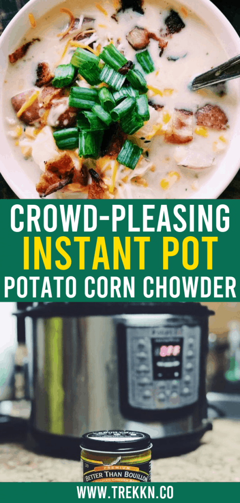 Instant Pot Potato Corn Chowder Recipe