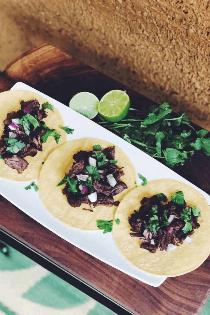 Instant Pot Shredded Beef Taco Recipe