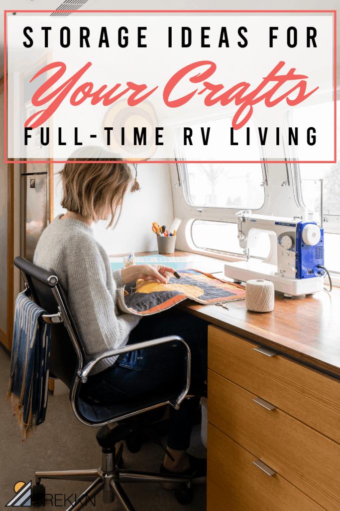 RV living storage ideas