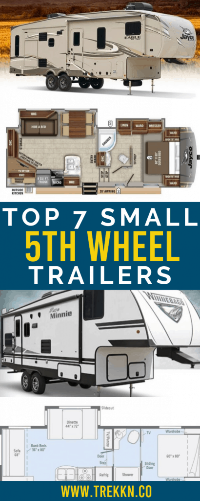 Top 7 Small 5th Wheel Trailers