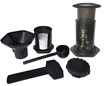 AeroPress - Aerobie 80R11 beverages, 1 to 4 Cup, Gray, 14 Ounce