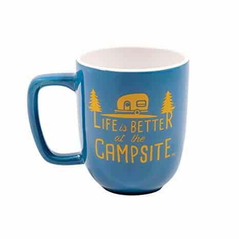 Life is Better at The Campsite Ceramic Coffee Mug