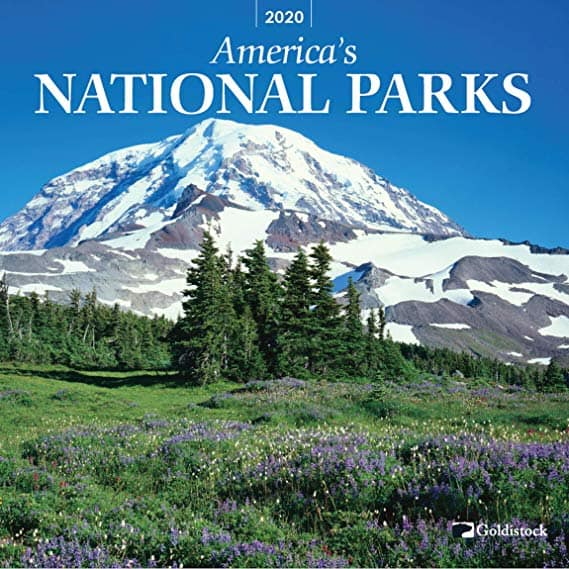 2020 Large Wall Calendar - National Parks by Goldistock - 12 x 24 (Open) - Featuring Breathtaking Images of Our National Parks