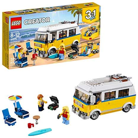 LEGO Creator 3in1 Sunshine Surfer Van 31079 Building Kit