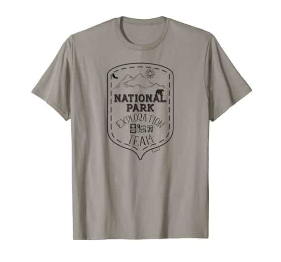 National Park Exploration Team T-Shirt