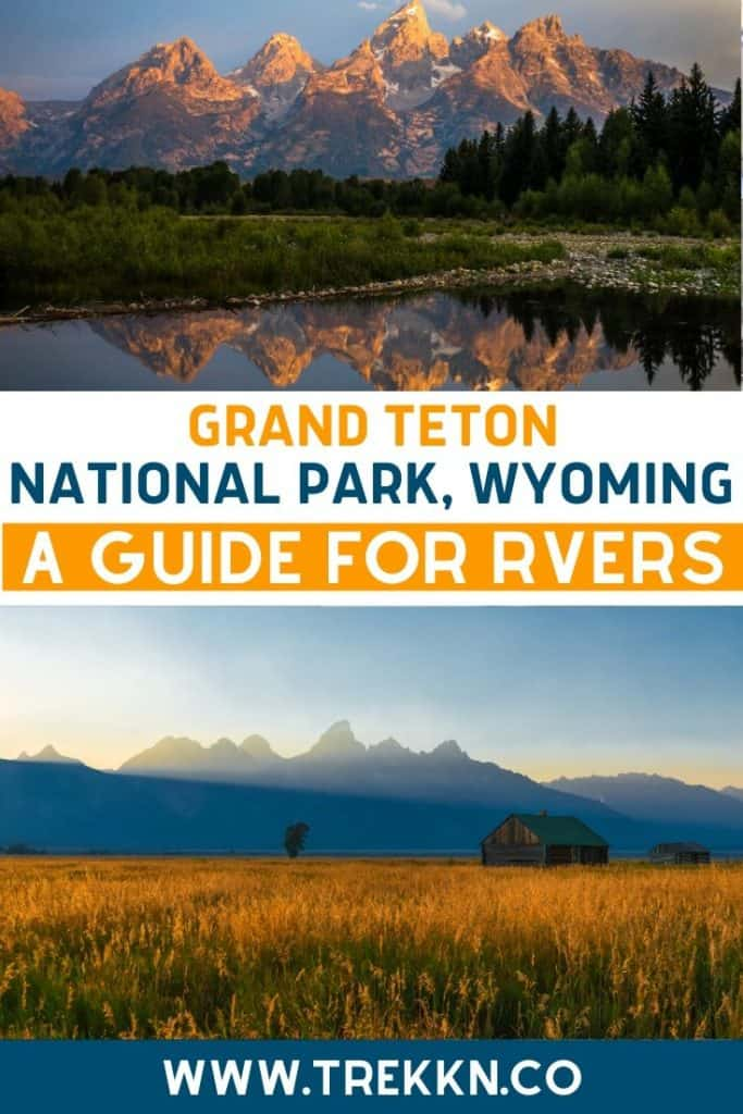 RVers Guide to Grand Teton National Park
